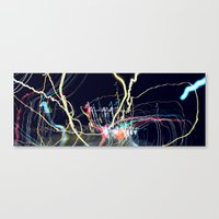 edm Canvas Prints featuring EDM by MOKEE3
