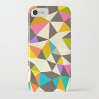 mod iPhone & iPod Cases featuring Mod Tris by Beth Thompson