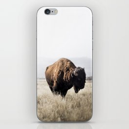 Bison stance iPhone Skin