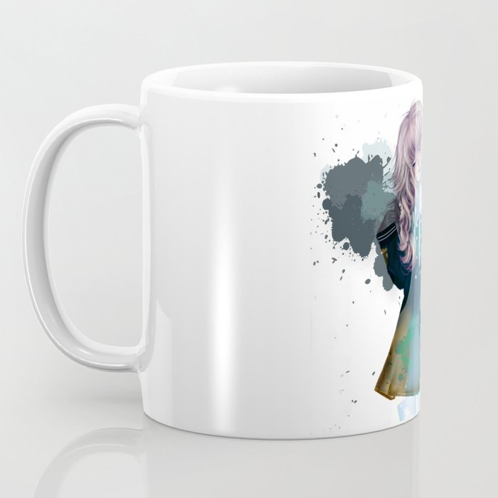 anime-blue-watercolor-tinta Coffee Mug