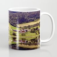 norway Mugs featuring Norway Reflections by Giulia Photos