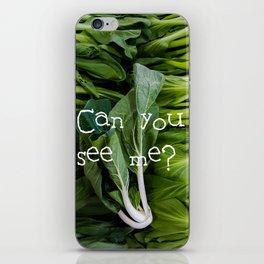 小白菜 - BABY BOK CHOY iPhone Skin