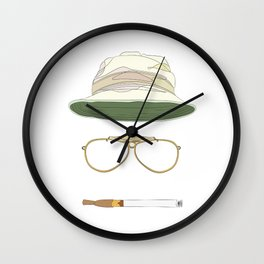 Movie Icons: Fear and Loathing in Las Vegas Wall Clock