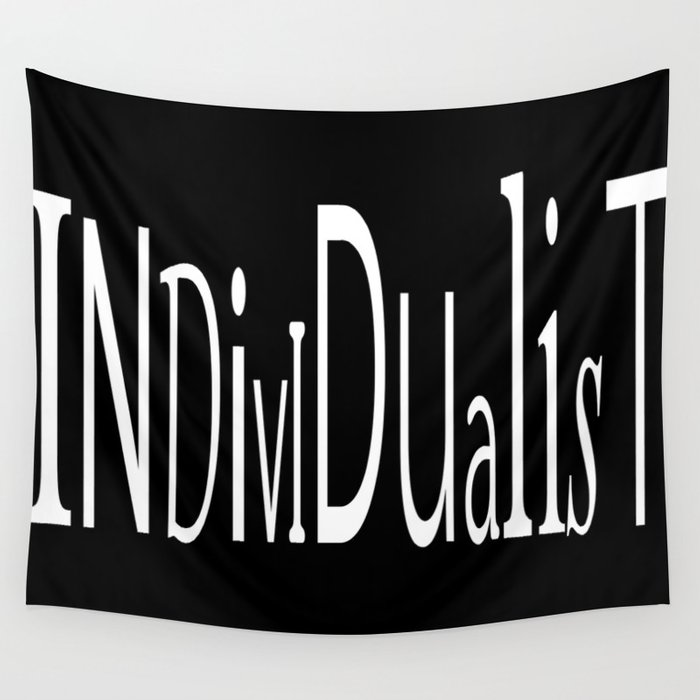 Individualist Wall Tapestry