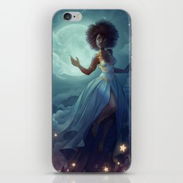 Lady of the sky iPhone Skin