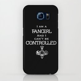 Uncontrollable Fangirl with Fandom Symbol iPhone Case