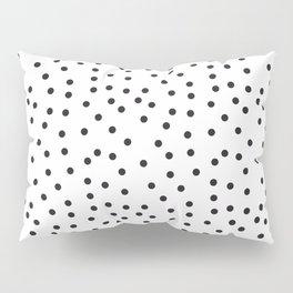 Topos locos negros Pillow Sham