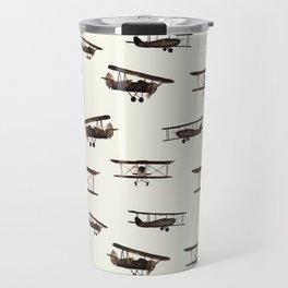 Retro airplanes Travel Mug