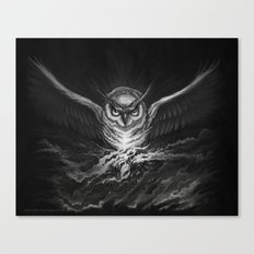 BounD Owl Canvas Print