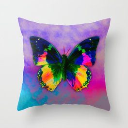 Buterfly III Throw Pillow