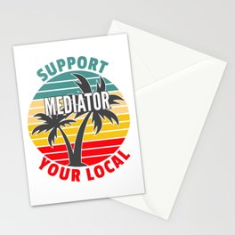 Mediator Gift, Support Your Local Mediator Stationery Cards