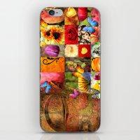 buddha iPhone & iPod Skins featuring buddha  by mark ashkenazi
