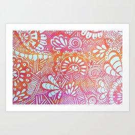 harvest print Art Print