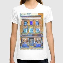 The Prospect Of Whitby Pub Pop Art T-shirt