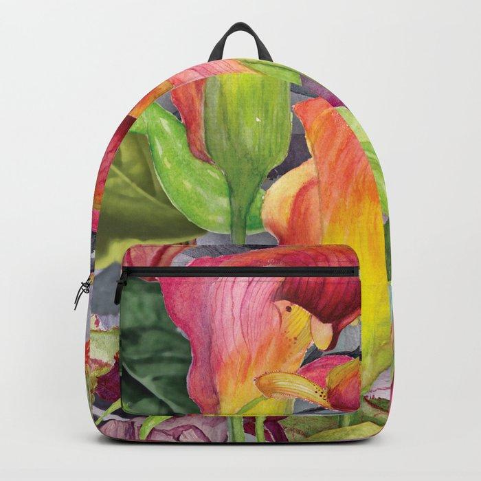 Macro Flowers #24 Backpack