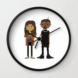 Kimye Wall Clock