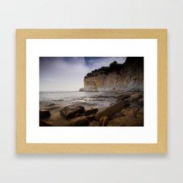 Cala Advocat I Framed Art Print