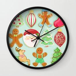 Baking Christmas Bright Wall Clock