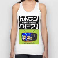 bebop Tank Tops featuring Don't Chug Soy Sauce - Chuggalo Bebop by How Much Can You Chug Foo?!