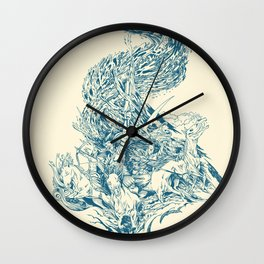 Horsemen of the Apocalypse Wall Clock
