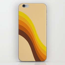 70s Color Palette iPhone Skin