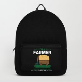 Farmer - I'm A Farmer Backpack
