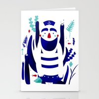 nemo Stationery Cards featuring Captain Nemo by Fabiola Correas