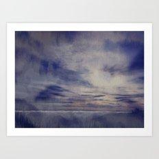 Alta laguna Art Print