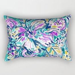 GARDEN OF DELIGHTS Rectangular Pillow