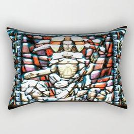 Pillowed Stain Rectangular Pillow