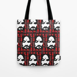 Charles Manson. The King Of Hearts. Tote Bag