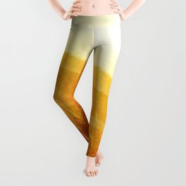 Through gold-woven dreams Leggings