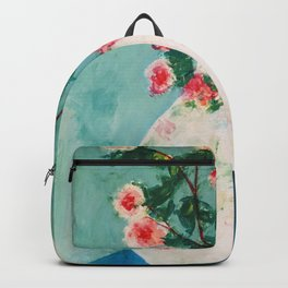 Wilde flowers in a pot Backpack