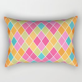 Lovely geometric Pattern VIII Rectangular Pillow