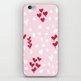 giving hearts gving hope: animal print iPhone Skin