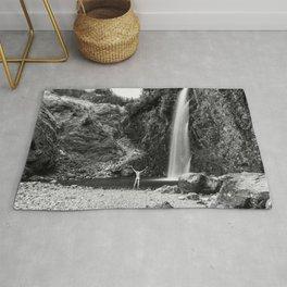 Naked Long Exposure Waterfall Rug