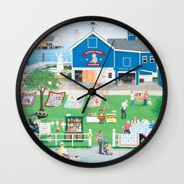 Dockside Bears Wall Clock