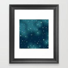 Northern Skies IV Framed Art Print