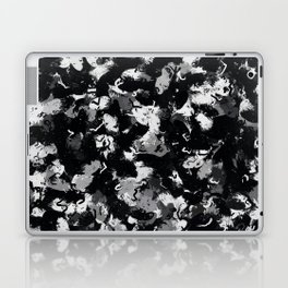 Shades of Gray and Black Oils #1979 Laptop & iPad Skin