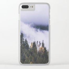 Vanishing Fog Clear iPhone Case