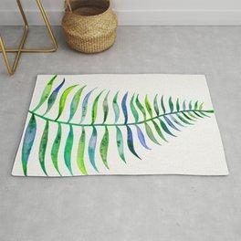 Palm Leaf – Green Palette Rug
