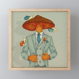 FALL IS BACK Framed Mini Art Print