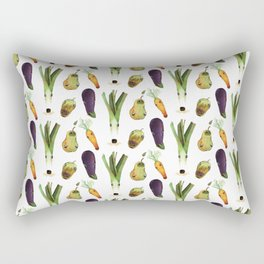 Veggie Doggos Rectangular Pillow