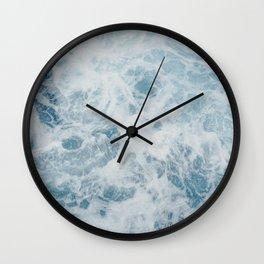 seafoam iv Wall Clock