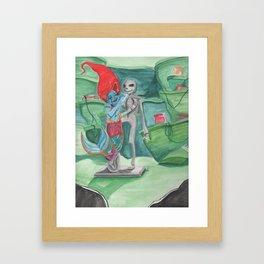 The Little Rag Doll Framed Art Print