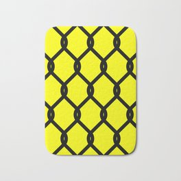 Chain-Link Fence (from Design Machine archives) Bath Mat