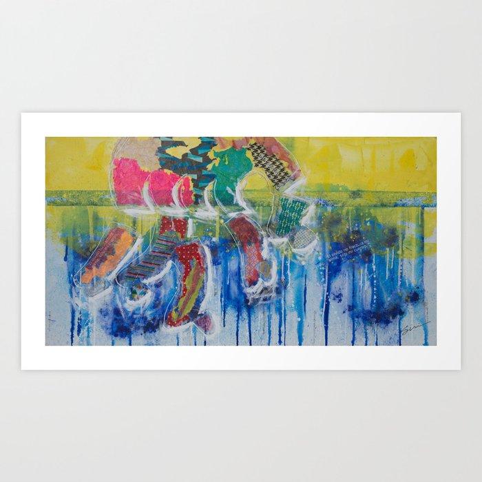 Humanitas 7 Art Print