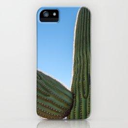 Saguaro Standing iPhone Case