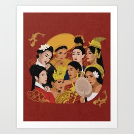Culture Celebration – Asian Edition Art Print