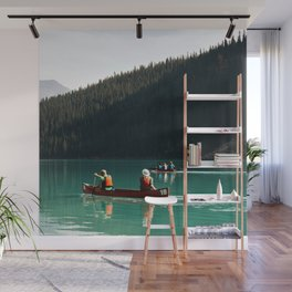 Lake Canoe Wall Mural